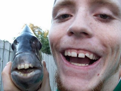 Domine da mihi hanc aquam fishing it 39 s disgusting for Ugly fish pictures