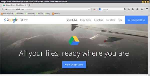 google drive-home