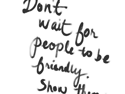 Quote Inspiration: Don't Wait