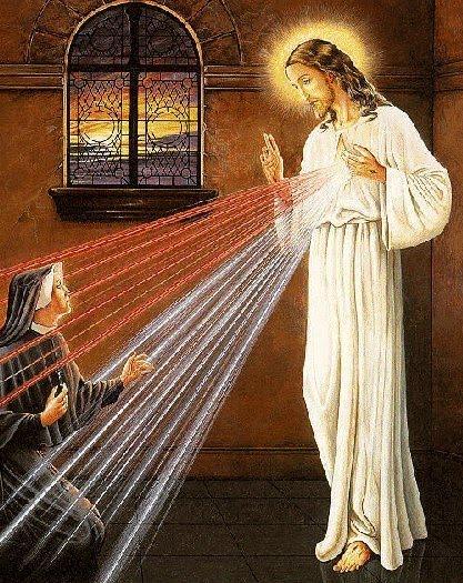 Jesus energizes a nun