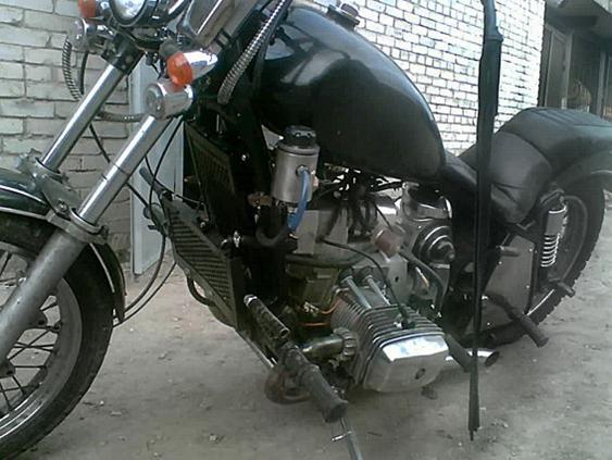 Водяное охлаждение своими руками на мотоцикл