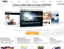 Crear páginas web en Flash gratis Wix en español