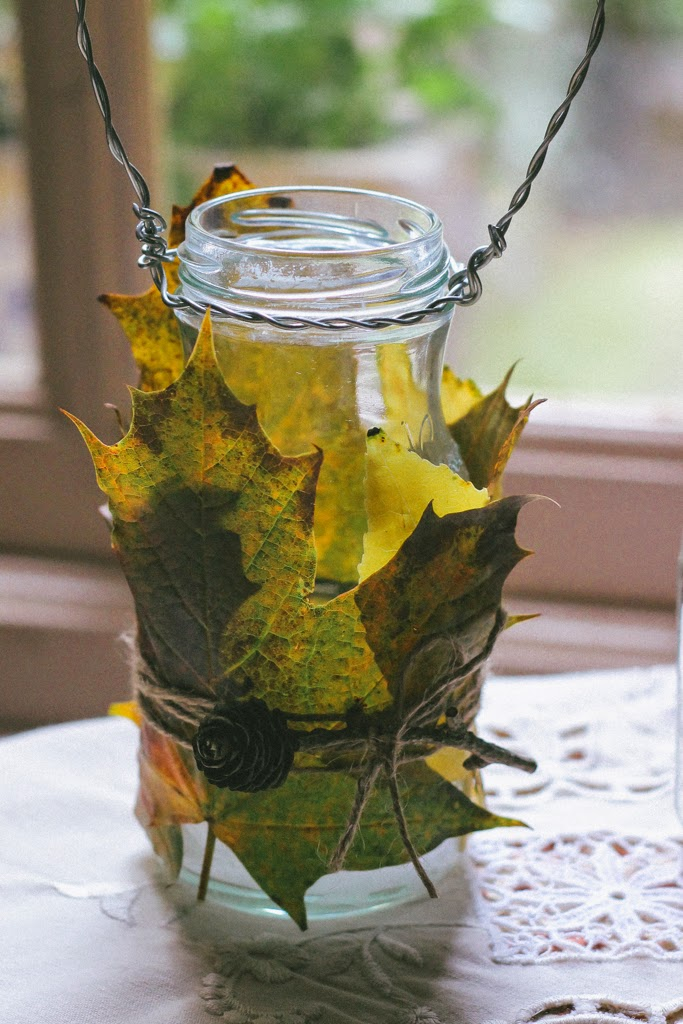 ... With Autumn Leaf Candle Lanterns. They Make Wonderful Centerpieces ...  Give A Lovely Warm Glow On Dark Autumn Evenings And In True AHC Fashion, ...