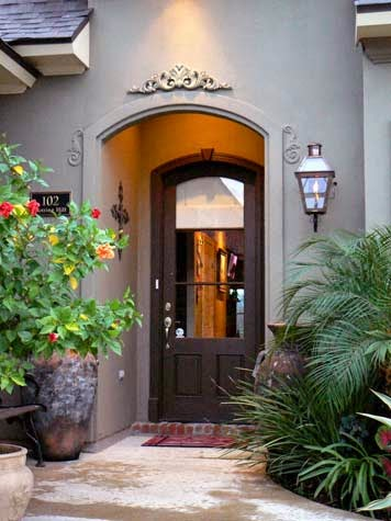 Decor entrances to homes