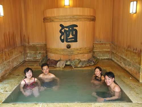 Sake Bath, Yunessun Onsen, Hakone