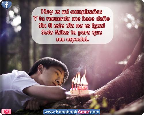 Triste de cumpleaños para compartir en facebook - Imágenes Bonitas ...