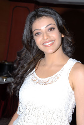 Kajal Agarwa in Blue Jean and White T Shirt