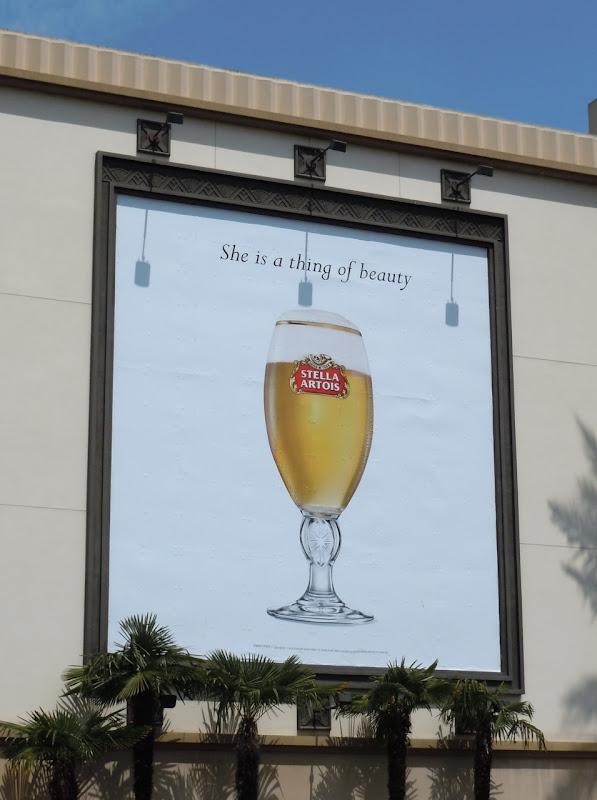 Thing of beauty Stella Artois billboard