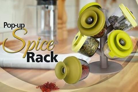 Pop Up Spice Rack