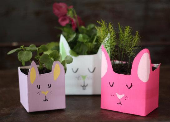 Diy+milk+carton+planters