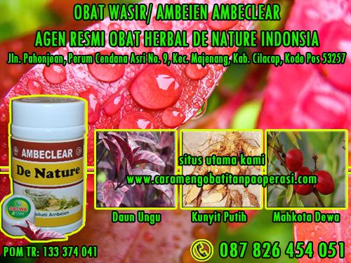 Obat Ambeien Herbal Untuk Ibu Hamil