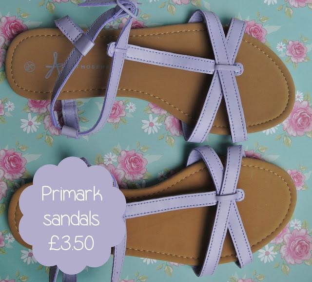 primark pastel sandals