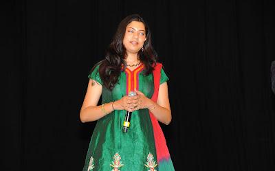 singer geetha madhuri at eega audio launch latest photos