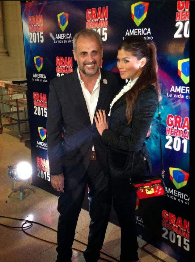 Jorge Rial y la Niña Loly
