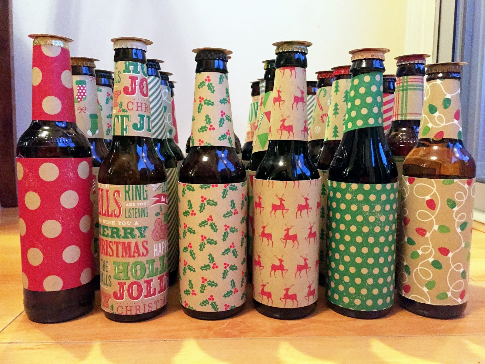 Chasin\' Mason: [Gifts for the Husband] DIY Beer Advent Calendar