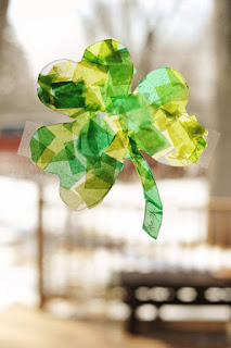 http://www.rustandsunshine.com/2012/03/stained-glass-shamrocks.html