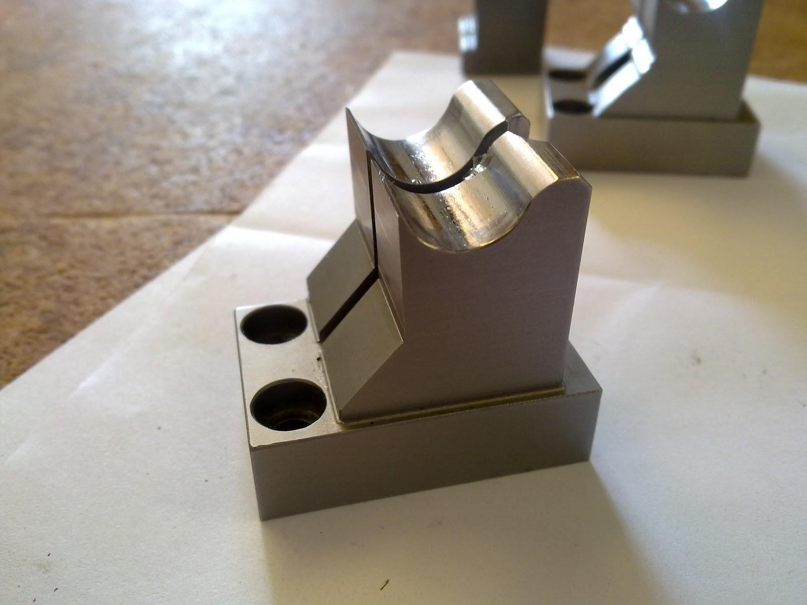 Elettroerosione su alluminio