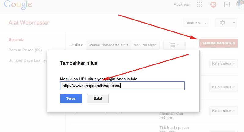 Cara Submit Sitemap Ke Google Webmaster Tool Agar Cepat di Index