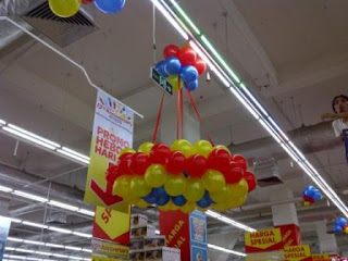 dekorasi balon CARREFOUR B