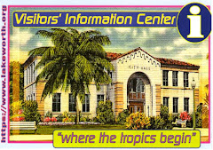 Volunteers always wel- come: Lake Worth Vis- itors' Info. Center:
