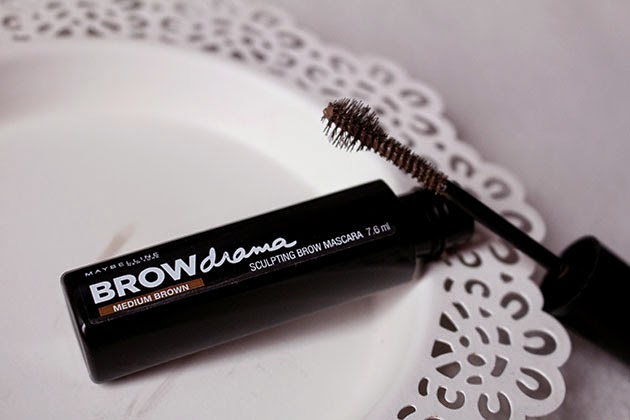 eyebrow mascara, eyebrow, L'Oréal, Brow Artist Plumer, châtain foncé, Maybelline, Brow Drama, medium brown, mascara à sourcils, brow mascara, enjoyk, revue, swatch, video, review, crash test,