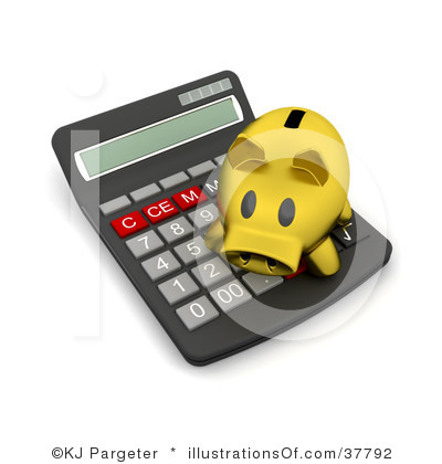 Accountant Lamp Picture: Accounting Clipart
