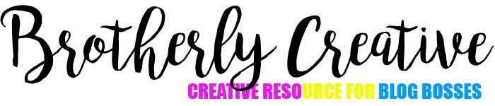 Brotherly Creative - Creative Resource for Blog Bosses