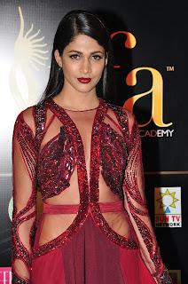 Lavanya Tripathi Stills in Red Long Dress at IIFA Utsavam Awards 2016 Day 2