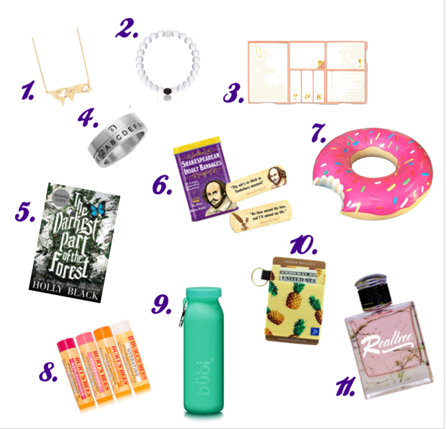 From gorgeous room decor to quirky makeup kits, these thoughtful and affordable gifts will make the teenage girl in your life so happy.