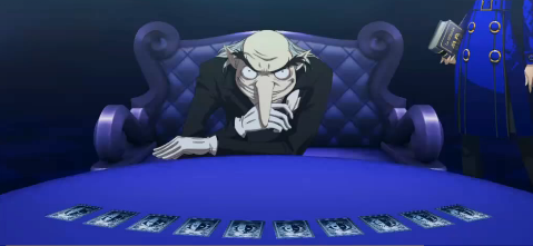... : Igor Invites You To The Velvet Room For Persona 4 Arena Wallpapers Akihiko Persona