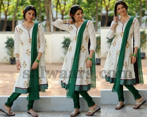 Tanvi Vyas Cream Designer Churidar