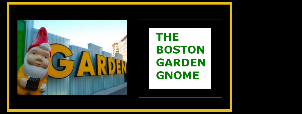 the boston garden gnome
