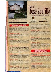 PRESENTACIÓN DE LA ASOCIACIÓN EN LA CASA ZORRILLA DE VALLADOLID