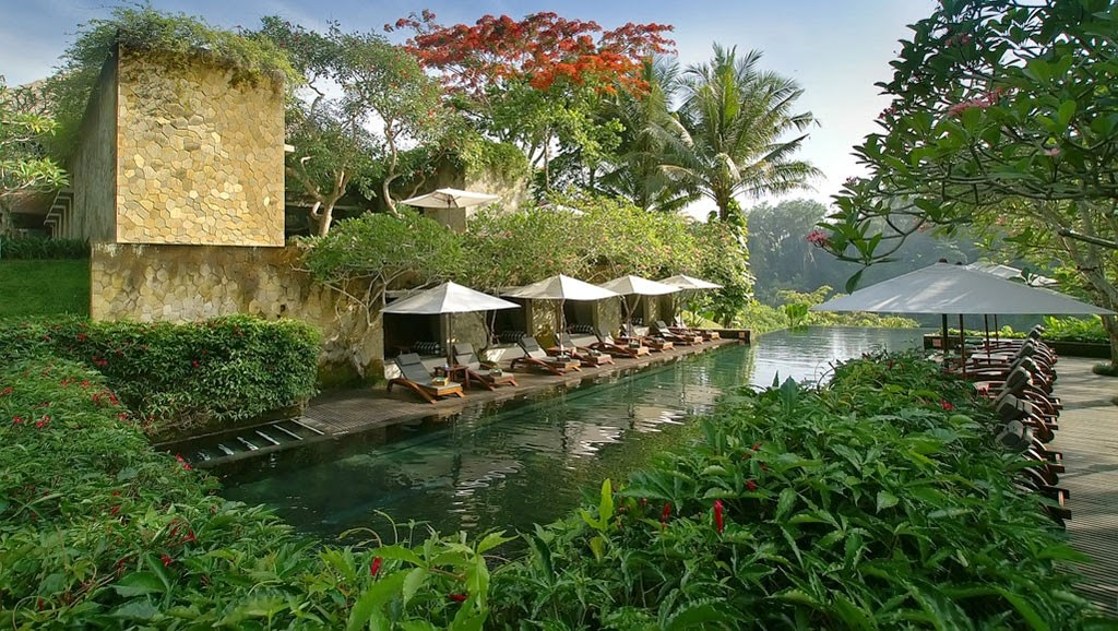 Maya Ubud Bali, Main Pool