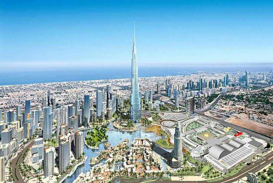 All about the famous places dubai amazing new pictures of for Famous structures in dubai