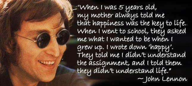 Famous Birthday Quotes Interesting Famous Birthday Quotes John Lennon 48 Quote