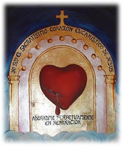 Acto de Reparacion al Corazón Eucaristico de Jesús