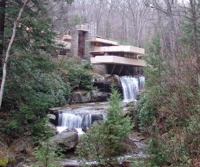 Mondod 39 arte di pia il mio amico frank for Wright la casa sulla cascata