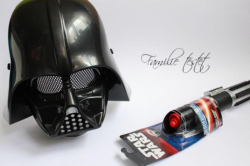 Darth Vader Maske Lichtschwert Kostüm Kinderkostüm