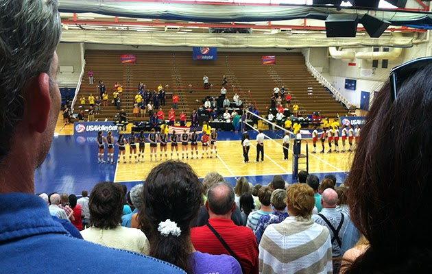 U.S. Women's National Volleyball Team in Colorado Springs