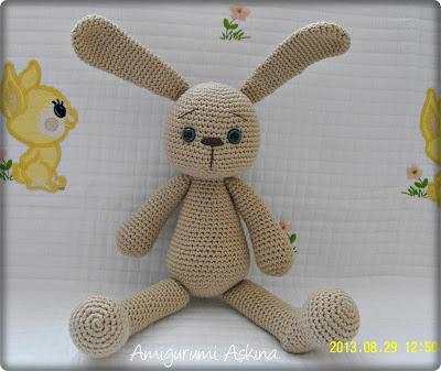 dantel modelleri: Amigurumi Tombik Tav?anlar-Amigurumi Rabbit