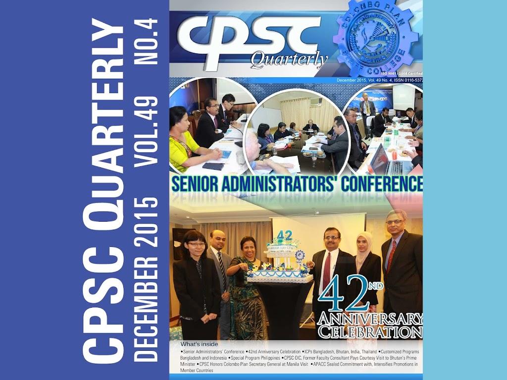 CPSC Quarterly December 2015