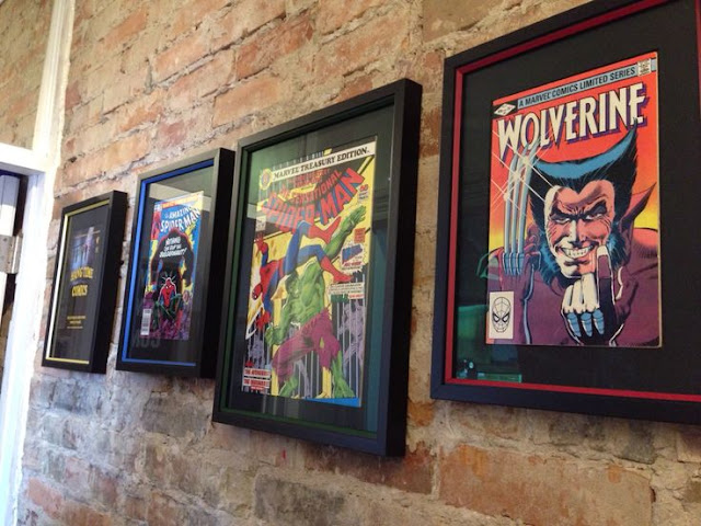 cadre comics geek frame