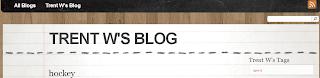 Trent's Blog