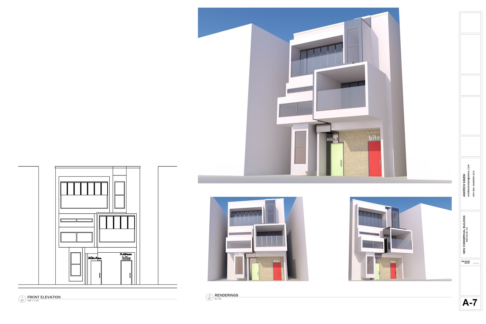 Project dump 3 story 25 39 frontage lot commercial building for 3 storey commercial building design