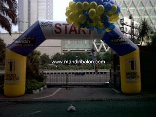 Gate Balon Bank Mandiri