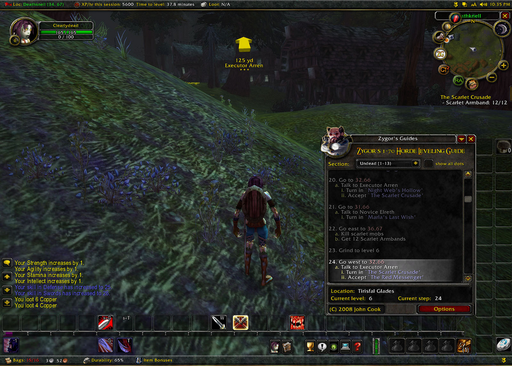 Wow Mining Guide Durotar : World Of Warcraft Skinning   How To Make Gold From The Wow Profession Skinning