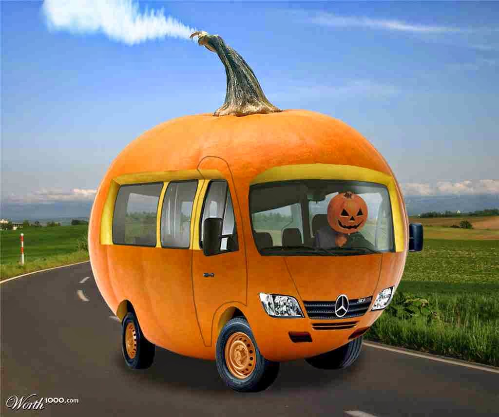Pumpkin Car - Germany