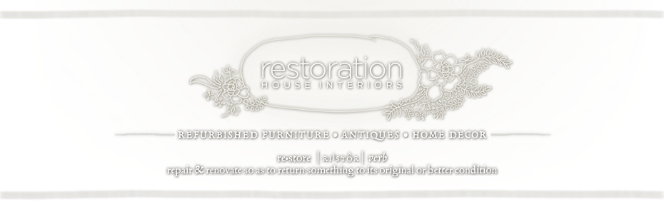 Restoration House Interiors