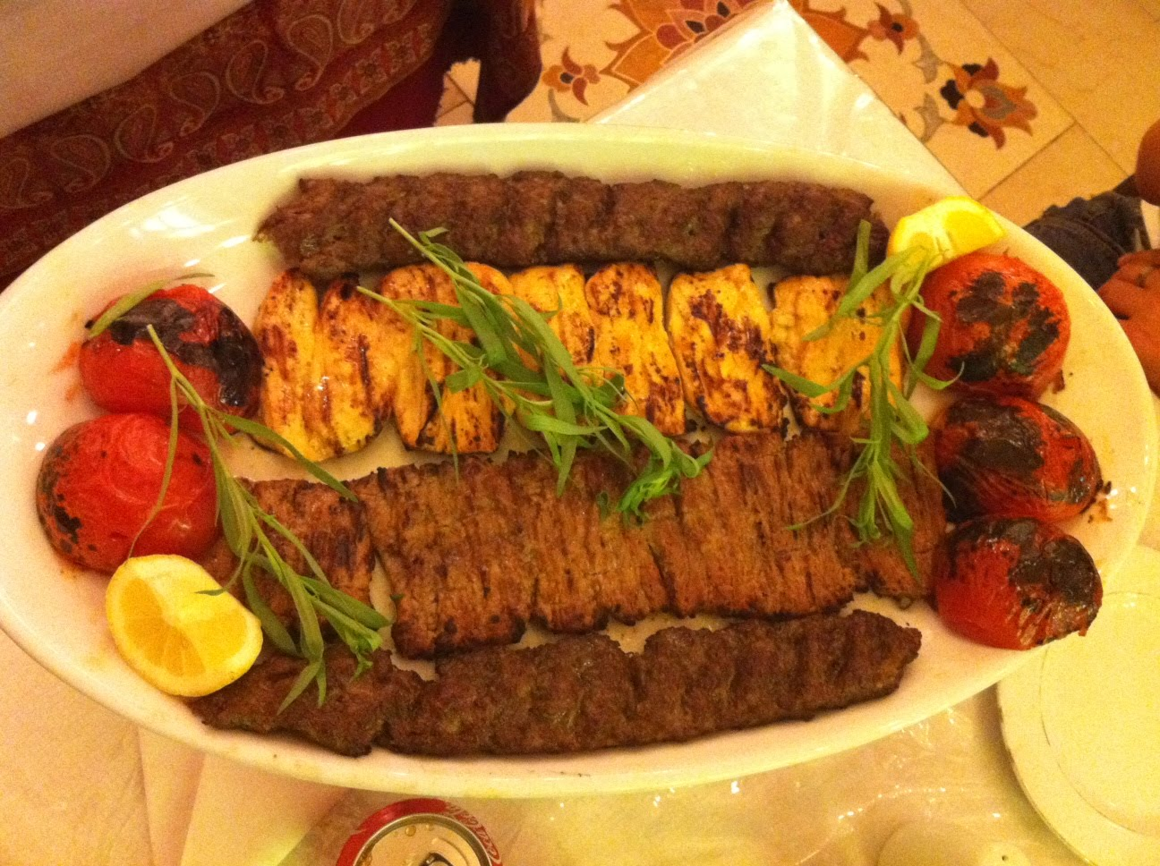 Around the world in london restaurants iran mahdi restaurant for Ahmads persian cuisine